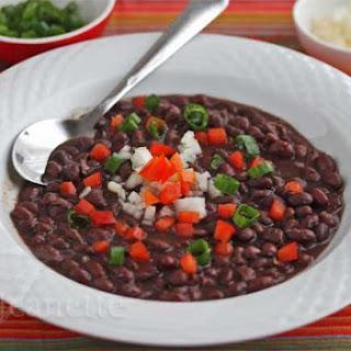 Cuban Black Beans in a Crockpot
