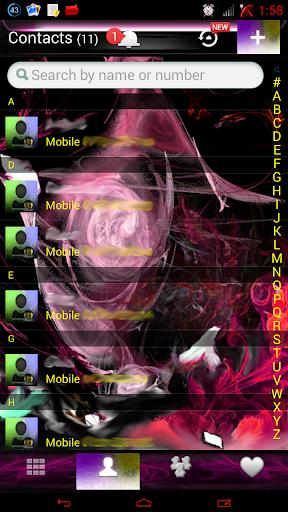 玩免費個人化APP|下載ピンクの炎のGOコンタクトEX app不用錢|硬是要APP