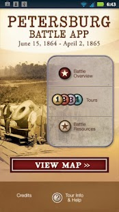 Petersburg Battle App - screenshot thumbnail