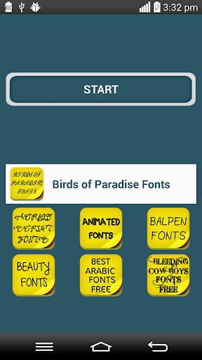 Birds of Paradise Fonts