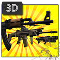 gun shooter icon