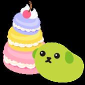 BatteryWidget SweetsMAME-SHIBA