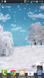 冬季降雪動態桌布 休閒 App-癮科技App