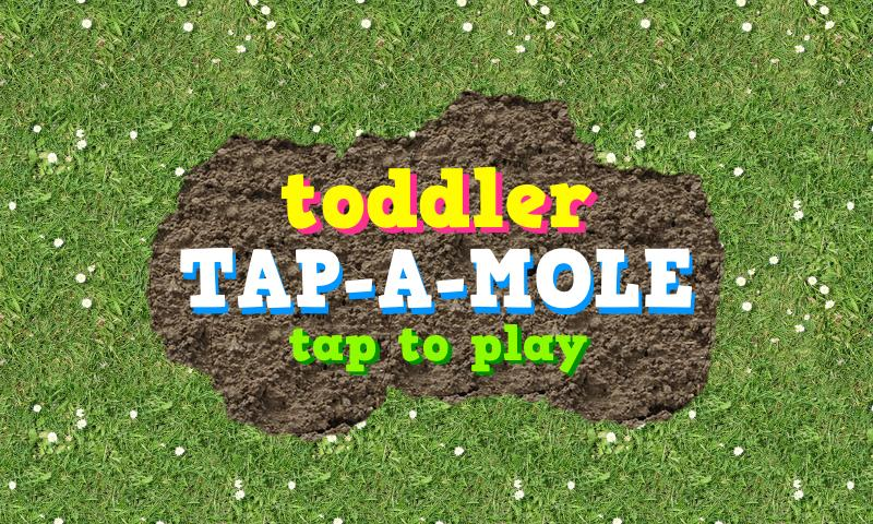 Toddler Tap-A-Mole- screenshot