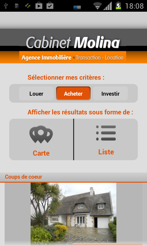 cabinet molina immobilier android apps on play