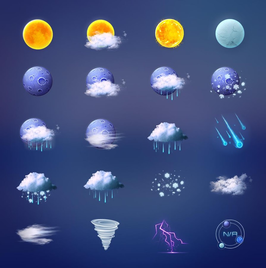 Beautiful 3d Weather Hd Icon Android Apps On Google Play
