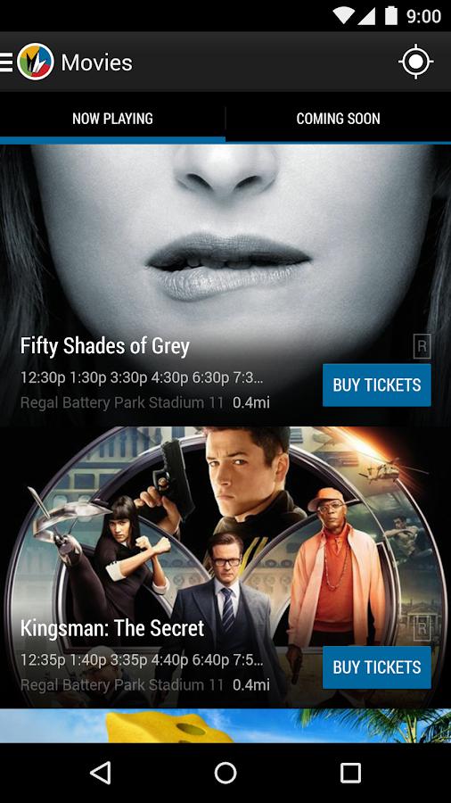 Regal Cinemas - screenshot