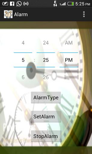 Wake me up Alarm