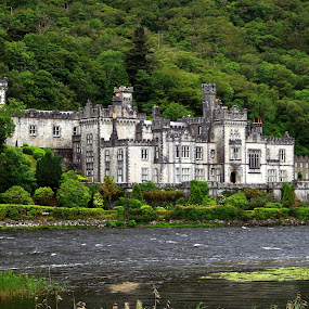 Kylemore Abbey by Ned Kelly - Buildings & Architecture Public & Historical ( benedictine, historical, abbey,  )