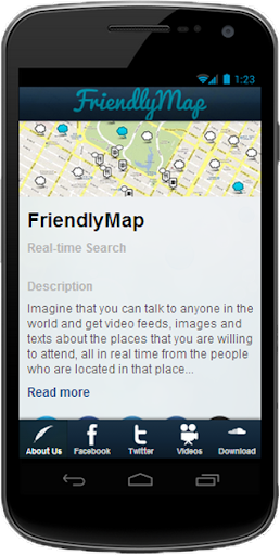 【免費通訊App】About FriendlyMap - Fun Ex!-APP點子