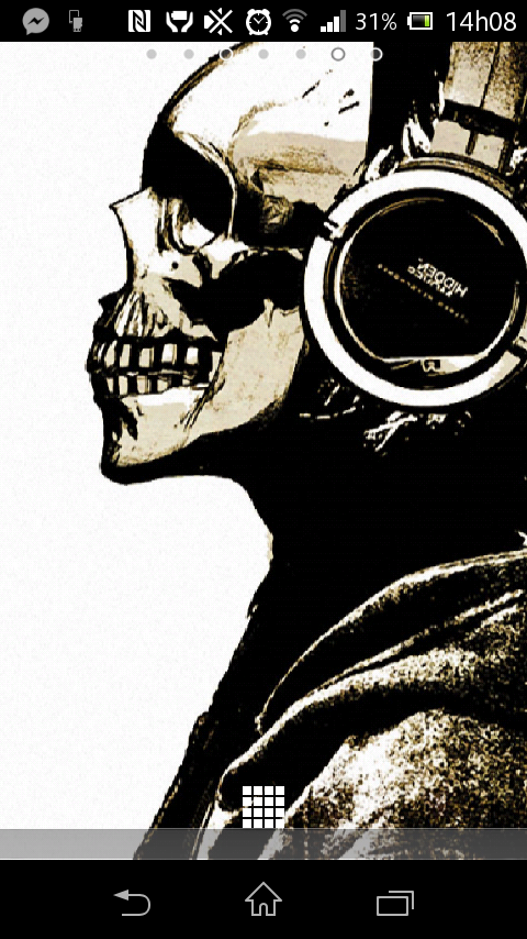 punk skull hd screenshot - photo #3