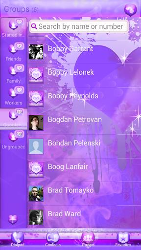 تحميل, ثيم, Purple Haze Contacts