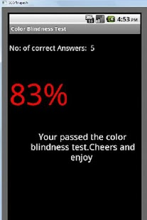Color Blindness Test - screenshot thumbnail
