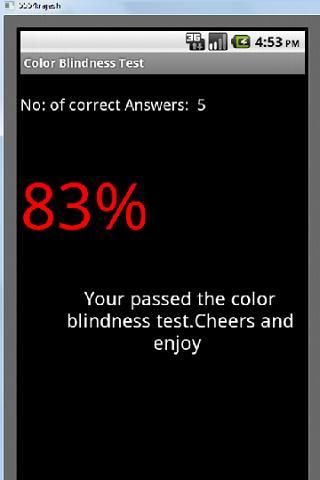 Color Blindness Test - screenshot