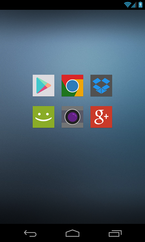 Stark - Icon Pack - screenshot