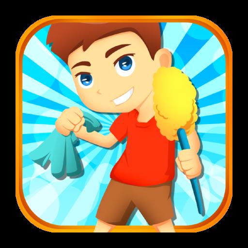 Cleaning Rooms Game LOGO-APP點子