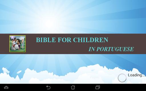 Children Bible In Portuguese
