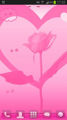 ランチャーEXのテーマバレンタイン GO Launcher