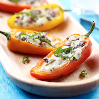Mediterranean Stuffed Sweet Peppers.