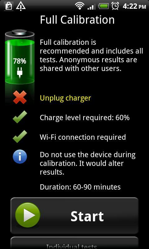 Battery HD Pro - screenshot