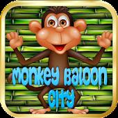 Monkey ballons city