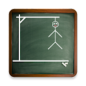 Hangman on Blackboard icon