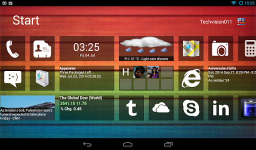 Home 8+ like Windows8 Launcher v3.4