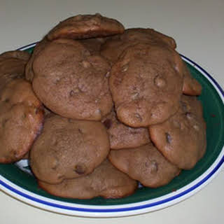 Absolutely Sinful Chocolate Chocolate Chip Cookies.