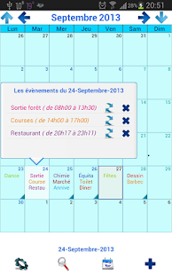 Mon Calendrier Plus - screenshot thumbnail