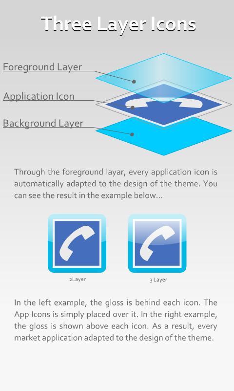 Clear Theme 4 GO Launcher EX- screenshot