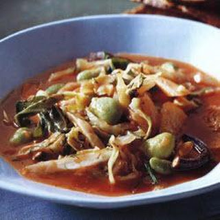 Mushroom And Winter Vegetable Soup