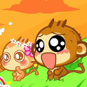 Cute Monkey HD Live Wallpaper icon