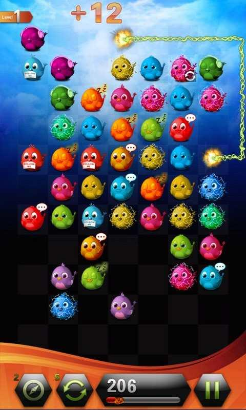 Link Game of bird - screenshot