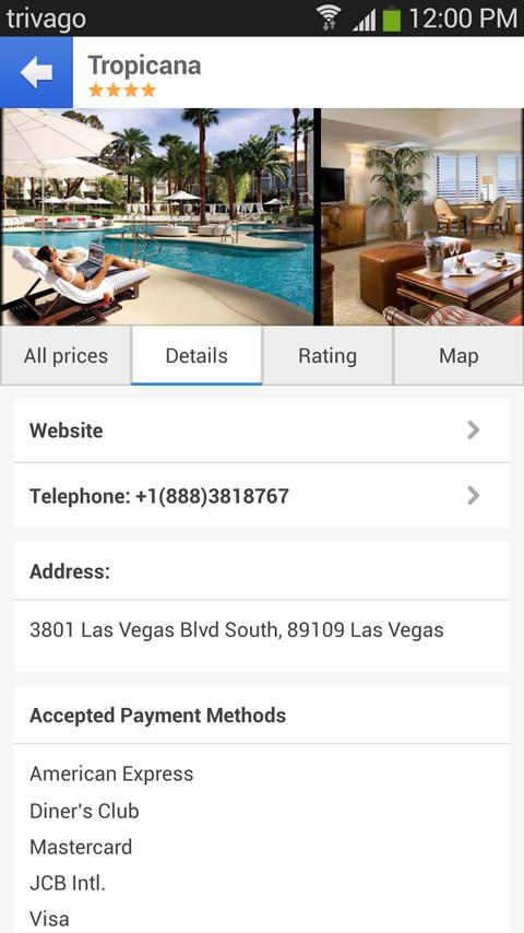 trivago - The Hotel Search - screenshot