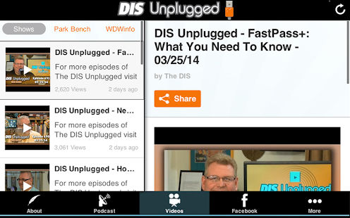 DIS Unplugged- screenshot thumbnail