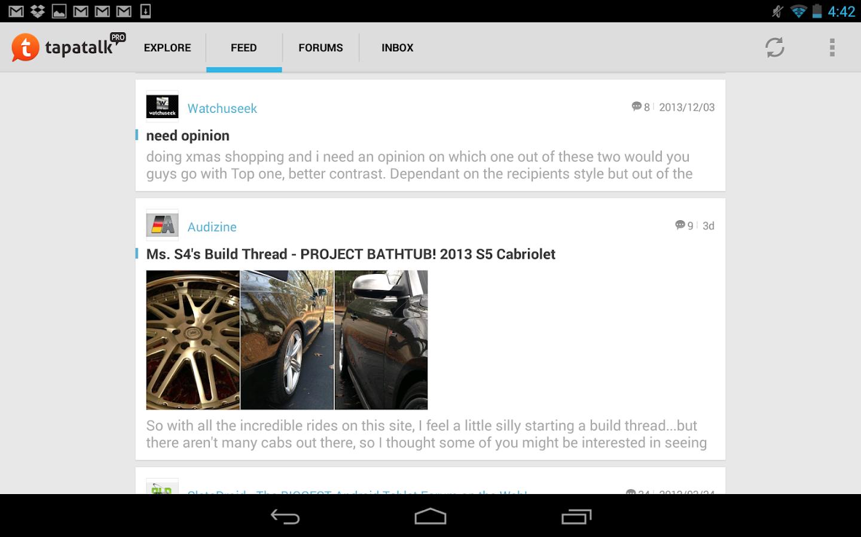 Tapatalk Pro - screenshot