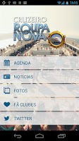 Screenshot of Roupa Nova Mobile