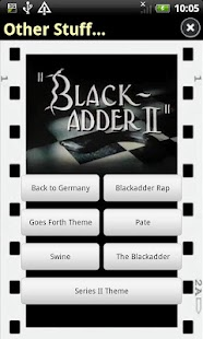 Blackadder Sounds - screenshot thumbnail