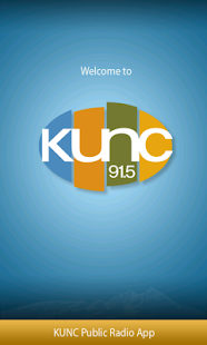 KUNC Public Radio App - screenshot thumbnail
