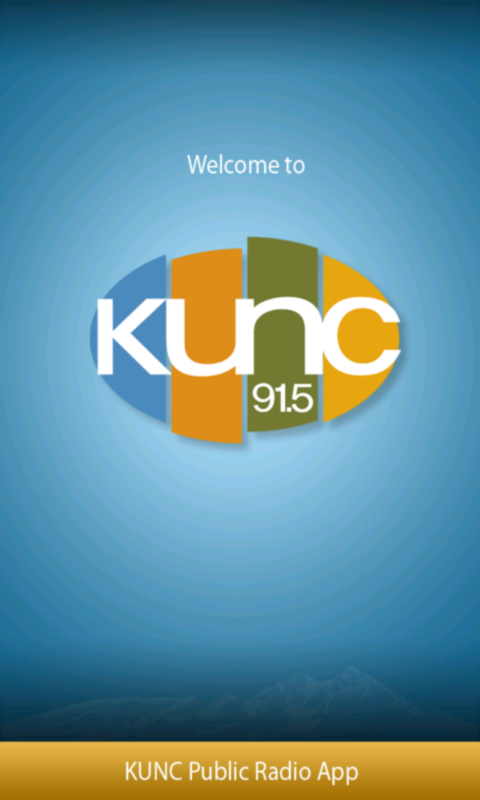 KUNC Public Radio App- screenshot