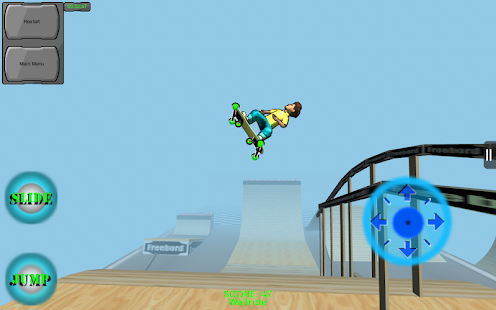 Freebord Snowboard The Streets - screenshot thumbnail