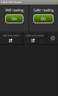 Call & SMS Reader - screenshot thumbnail