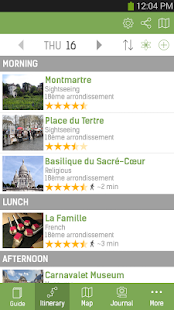 Paris Travel Guide – mTrip- screenshot thumbnail