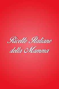 Ricette Italiane della Mamma - screenshot thumbnail