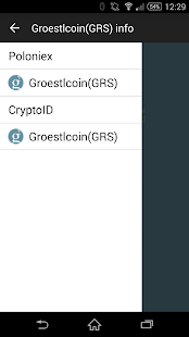 Groestlcoin Info- screenshot thumbnail