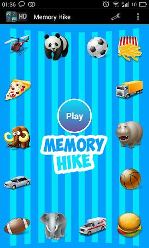 メモリのハイキング