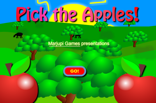 Pick the apples
