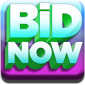 Bid Now Penny Auction Shopping logo