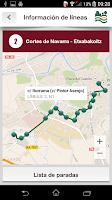 Screenshot of Tu Villavesa - Bus Pamplona