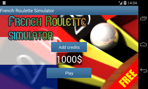 French Roulette Simulator